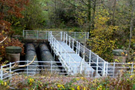 Thirlmere Aqueduct River Pipe Crossings
